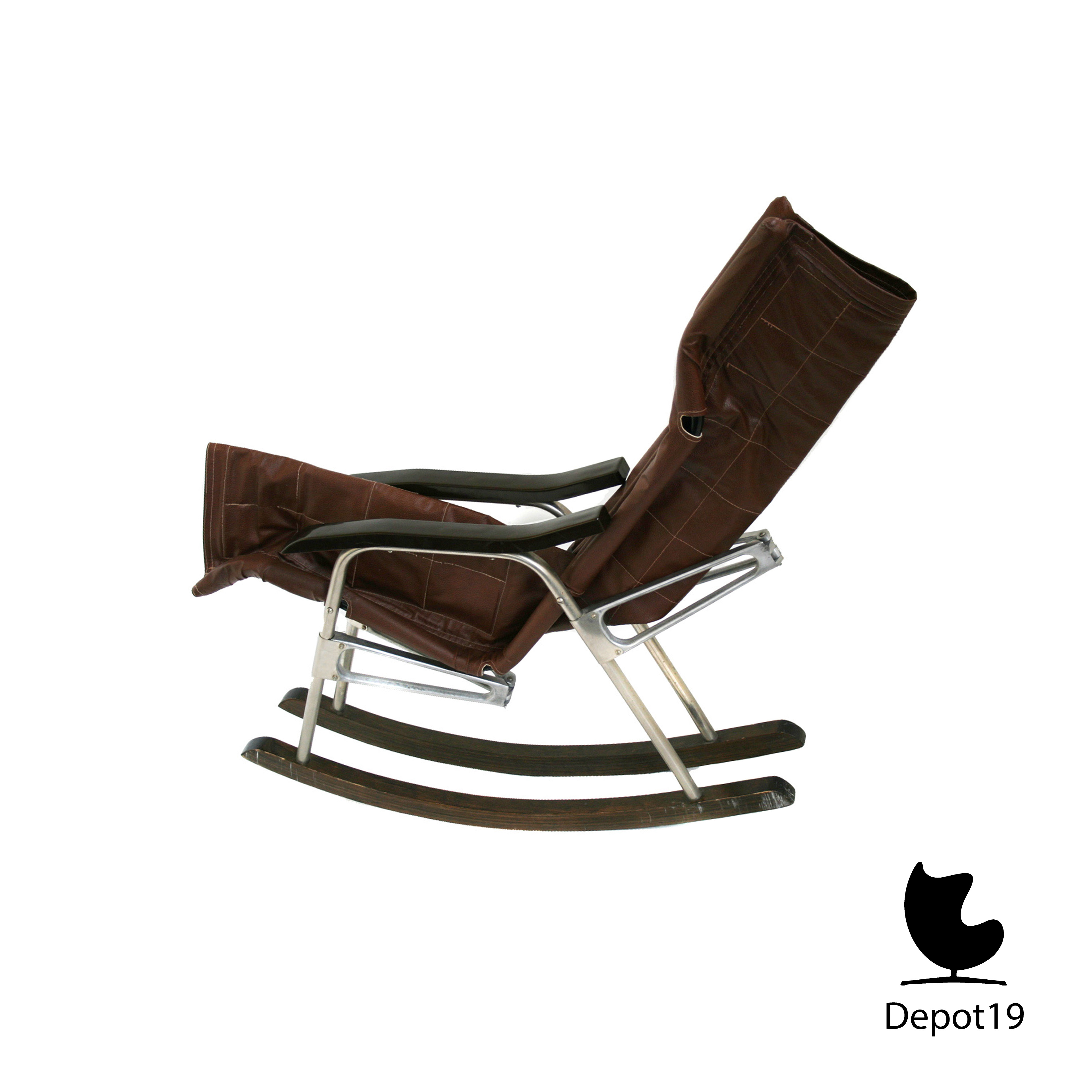 Danish Takeshi Nii folding rocking chair rocker