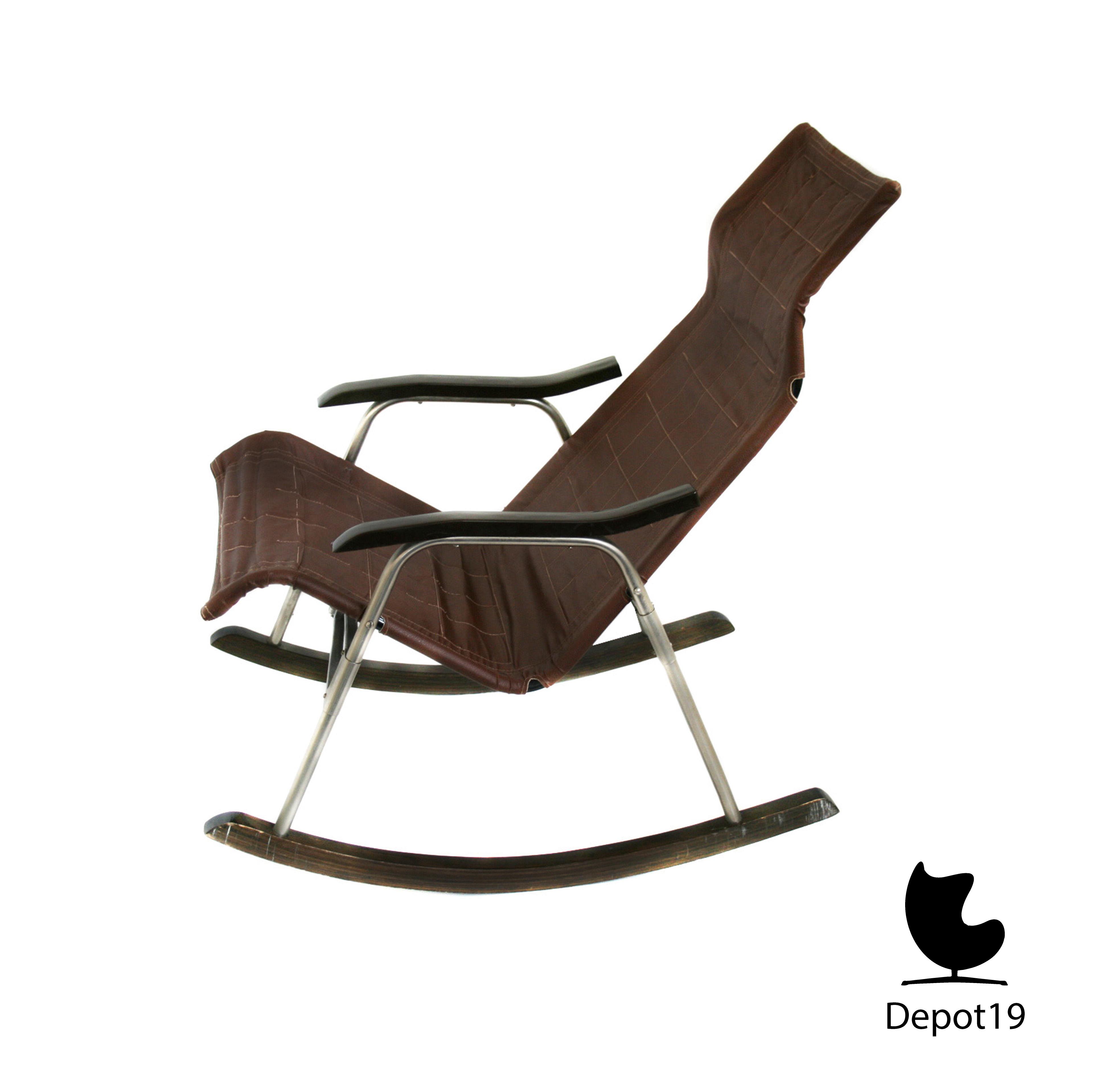 Danish Takeshi Nii folding rocking chair rocker