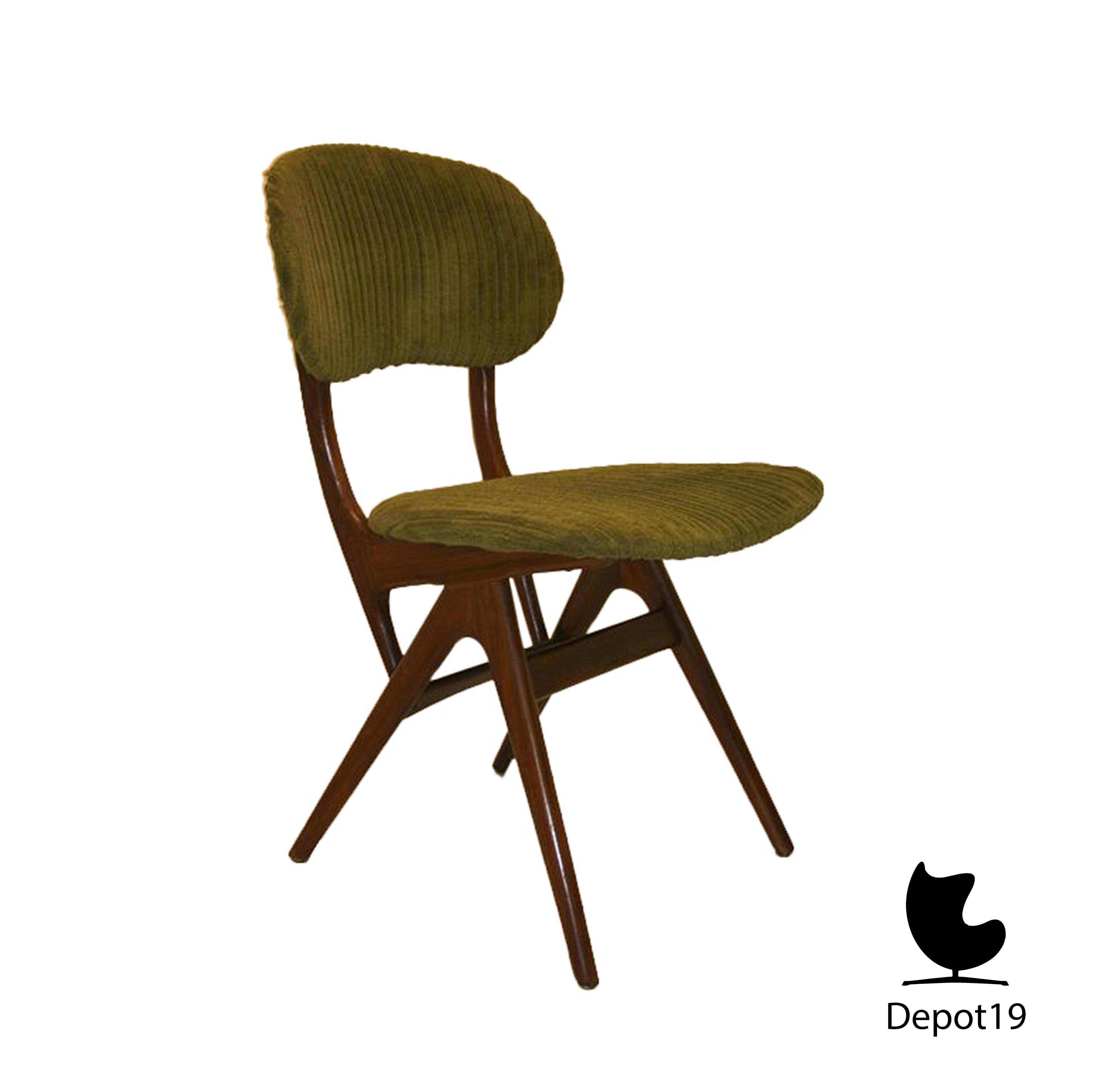 #3F2B1023653692 Louis Van Teeffelen Style 1960s Webe Green Chair Depot 19 6.jpg Meest effectief Design Meubels Namaak 2375 behang 384038352375 afbeeldingen