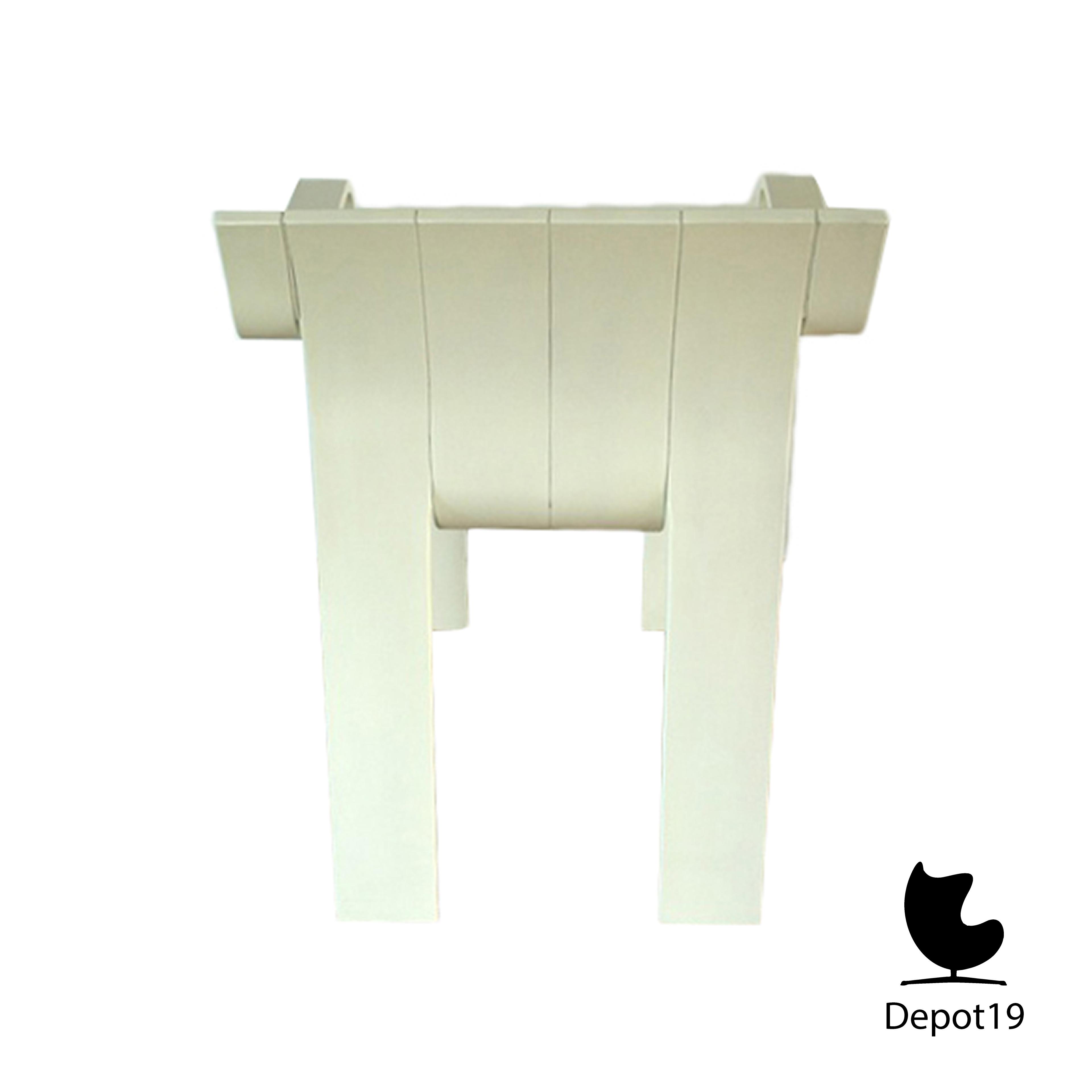 Castelijn Gijs Bakker Strip Armchair White Depot 19