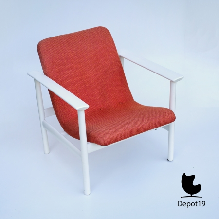 Vintage_MCM_Webe_lounge_chair_Louis_van_Teeffelen_style_White_orange_depot_19_4.JPG