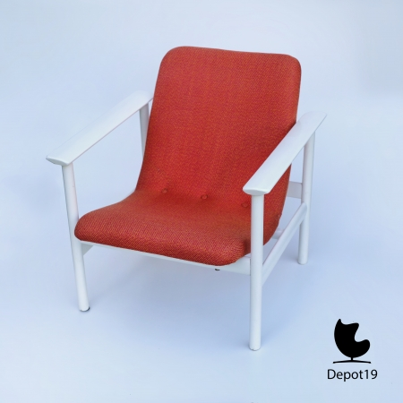 Vintage_MCM_Webe_lounge_chair_Louis_van_Teeffelen_style_White_orange_depot_19_3.JPG